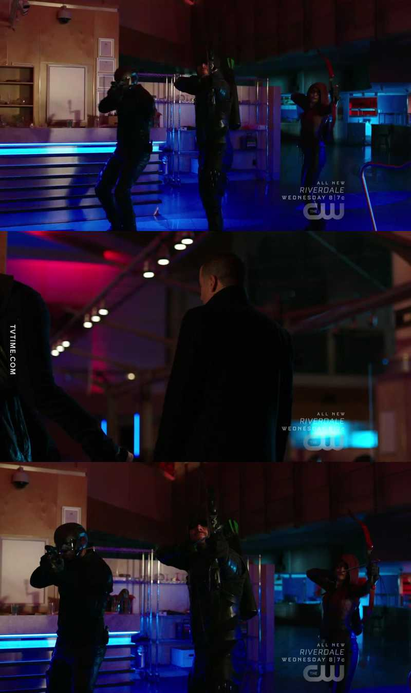 -Finish him, Oliver -I can't, there are 8 more episodes😂  If you know what I mean