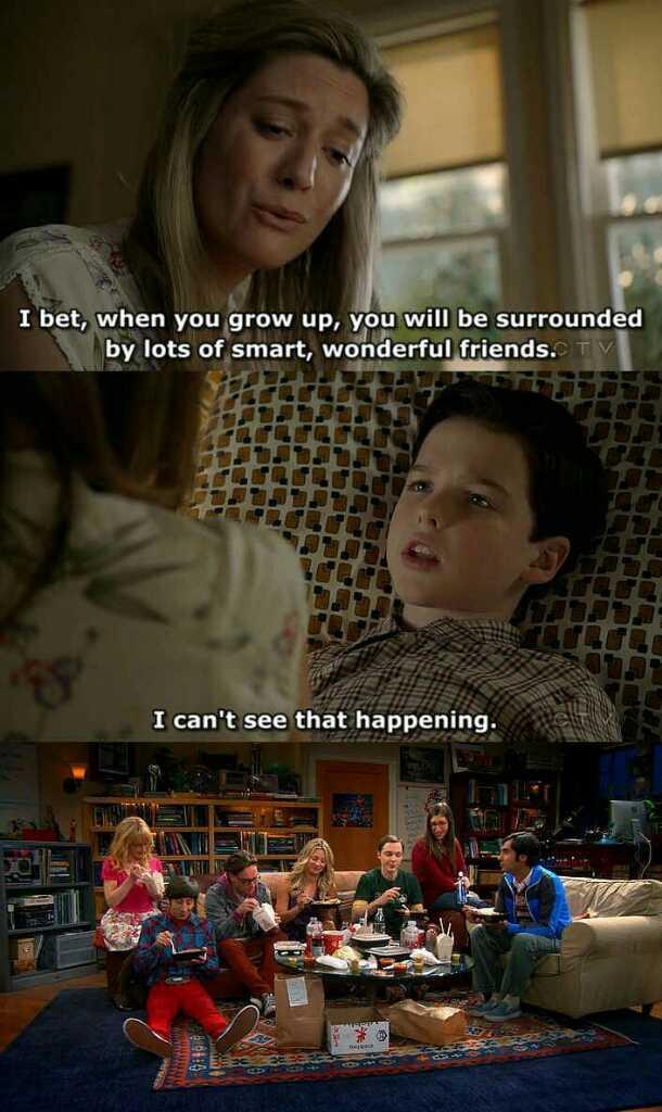 """""""Scommetto che quando crescerai sarai circondato da tante persone meravigliose ed intelligenti"""" """"Non riesco ad immaginarlo"""" NOI SI❤"""