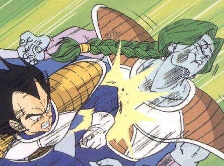 O que interessa é a luta Vegeta contra Zarbon, mas grande parte do episódio é só esse filler arrastado do Goku na nave. 😒
