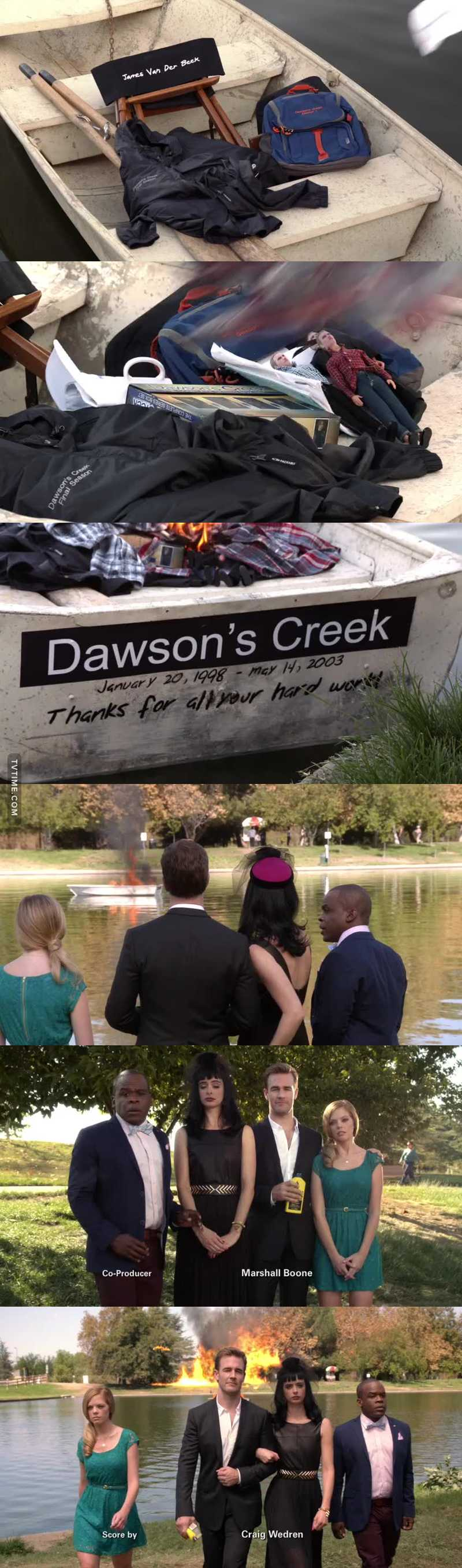 Addio, Dawson!!!