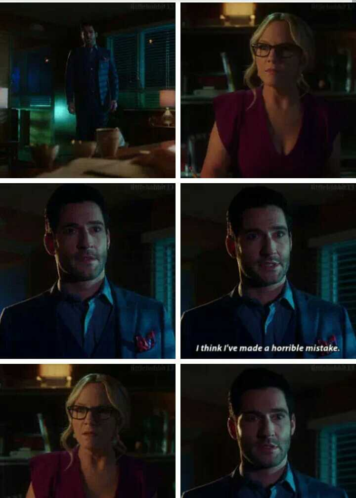 😭 OH my God, Lucifer was so hurt!!