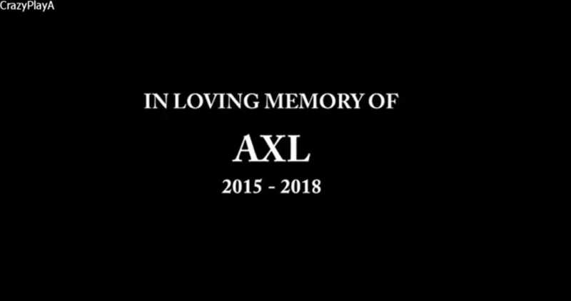RIP AXL 😭 😂😭