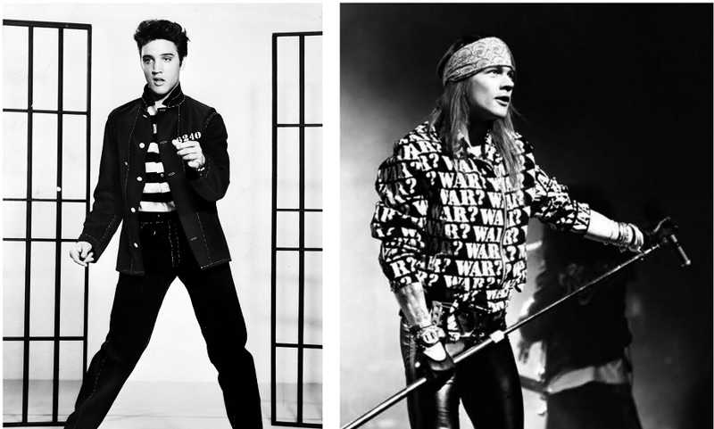 Elvis Presley and Axl Rose.. Thank you legends of tomorrow.. for this amazing episode.. ❤️