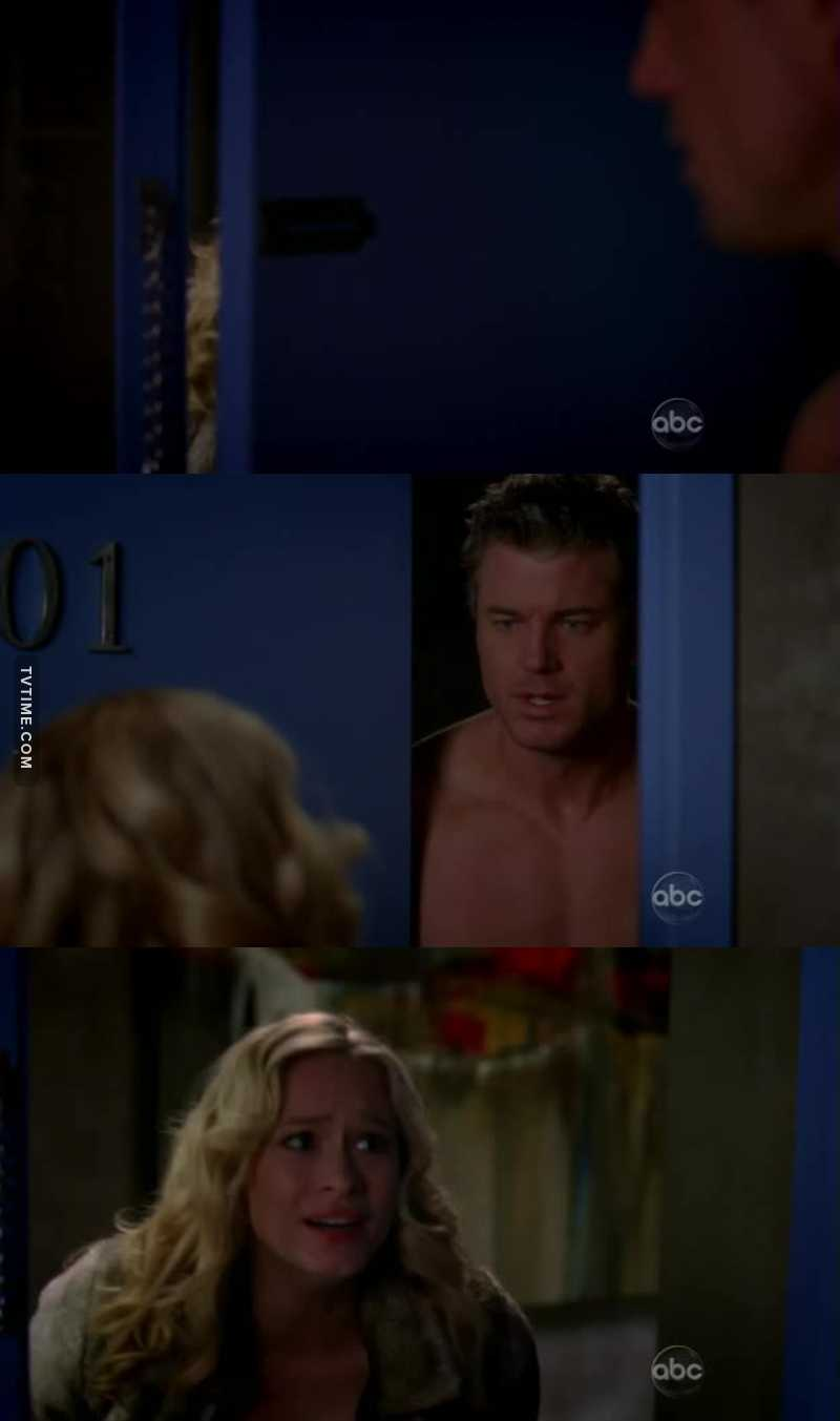 At the end of episode I thought that Lexie came to Mark but that was just Sloan 😮