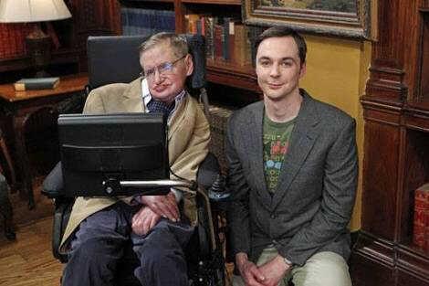 Fui assistir o episódio dia 14/03 e logo tem piadinha com o Hawking 💔 Espero que tenha episódio em homenagem a ele ♥️