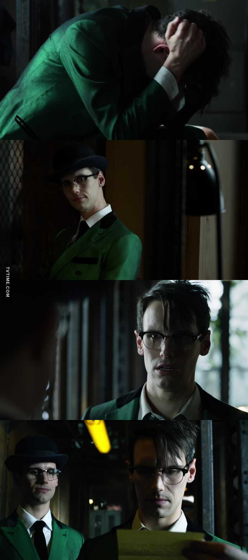 We should have two buttons : Edward and The Riddler. This episode was just crazy, Cory is such a good actor 💚