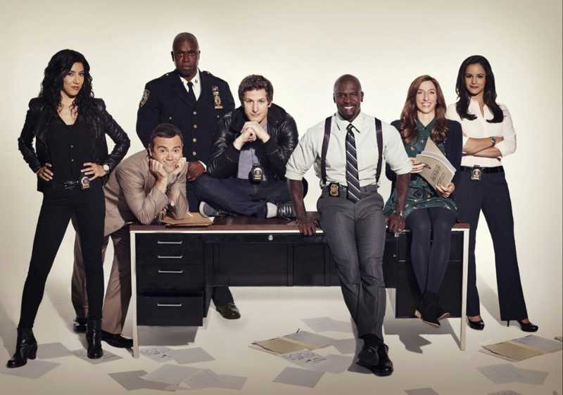 Brooklyn Nine-Nine cast is so diverse and unproblematic i love each and every single one of them
