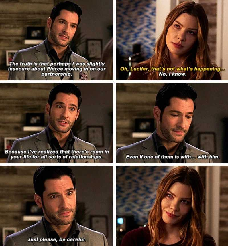 I'm proud of Lucifer, really, I am. But also, I'm just… disappointed 😐😞