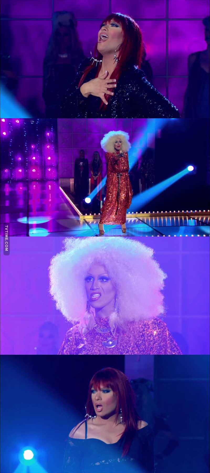 WORST LIPSYINC OF THE ENTIRE SHOW OH MY GOD, HOW DARE YOU DISRESPECT BRITNEY LIKE THAT?   Ru, you made the right call