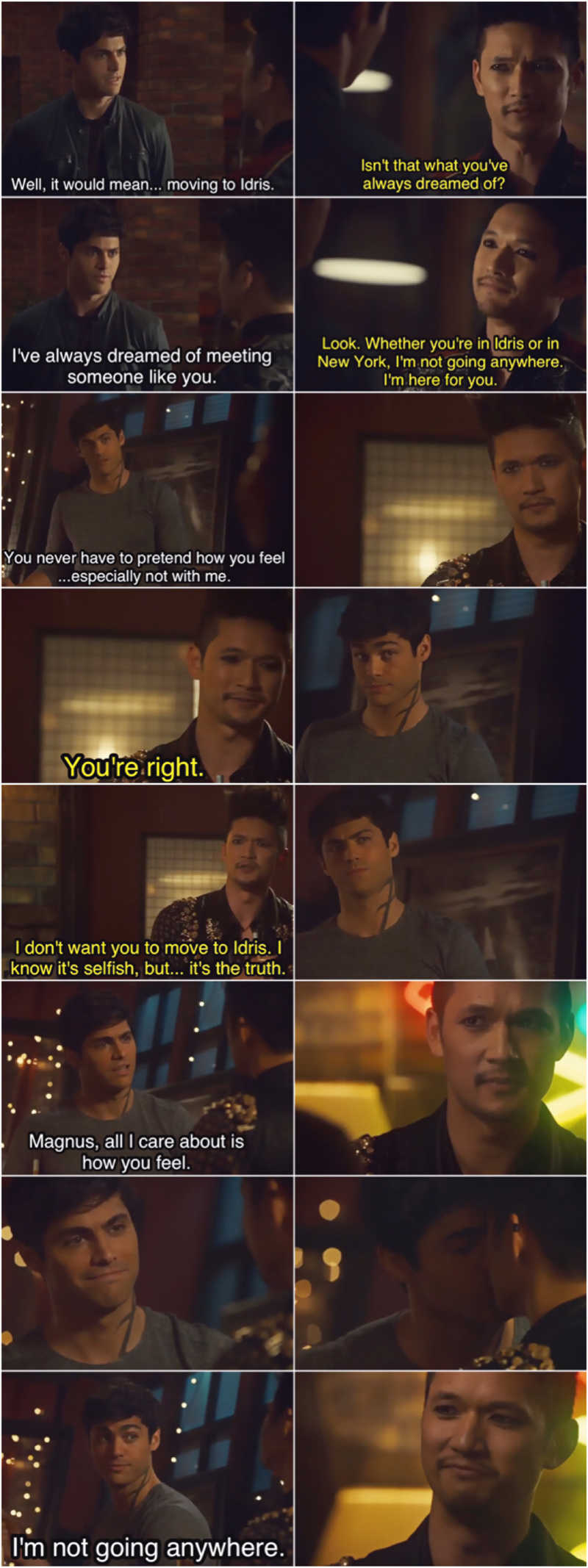 Malec is back and all is right in the world 😍🤗💙