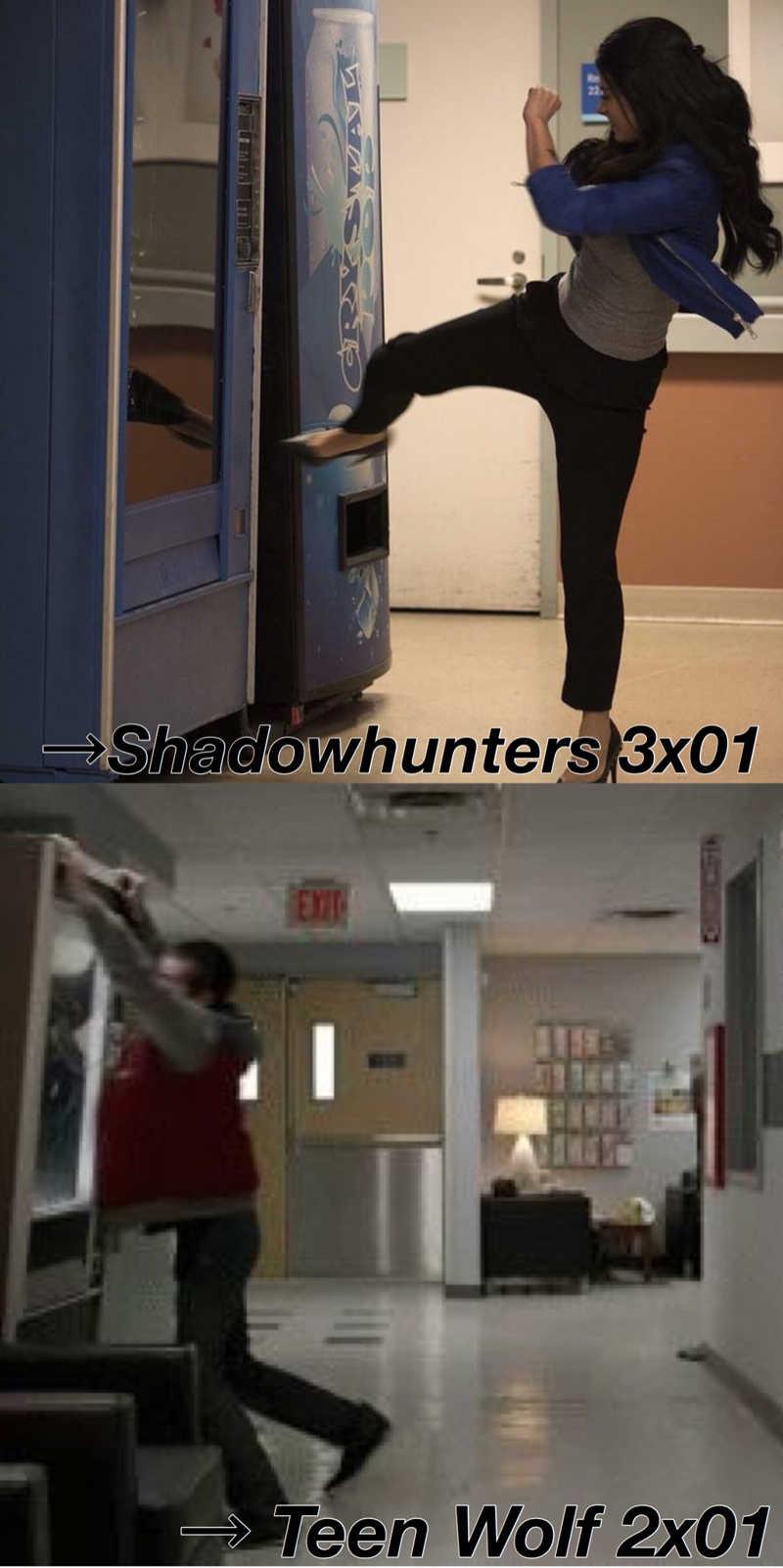 human vs shadowhunter: a vending machines tale
