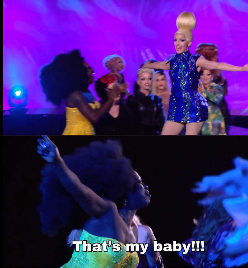 Bob being a proud mom is a mood, I love Cracker!!