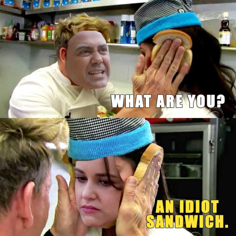 Boyle went full Ramsay
