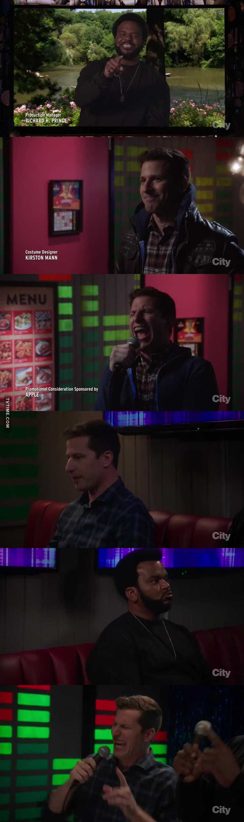 AHAHAHAHAH THE ENDING  AND THE KARAOKE PART SERIOUSLY THIS SHOW IS SO FUNNY XD