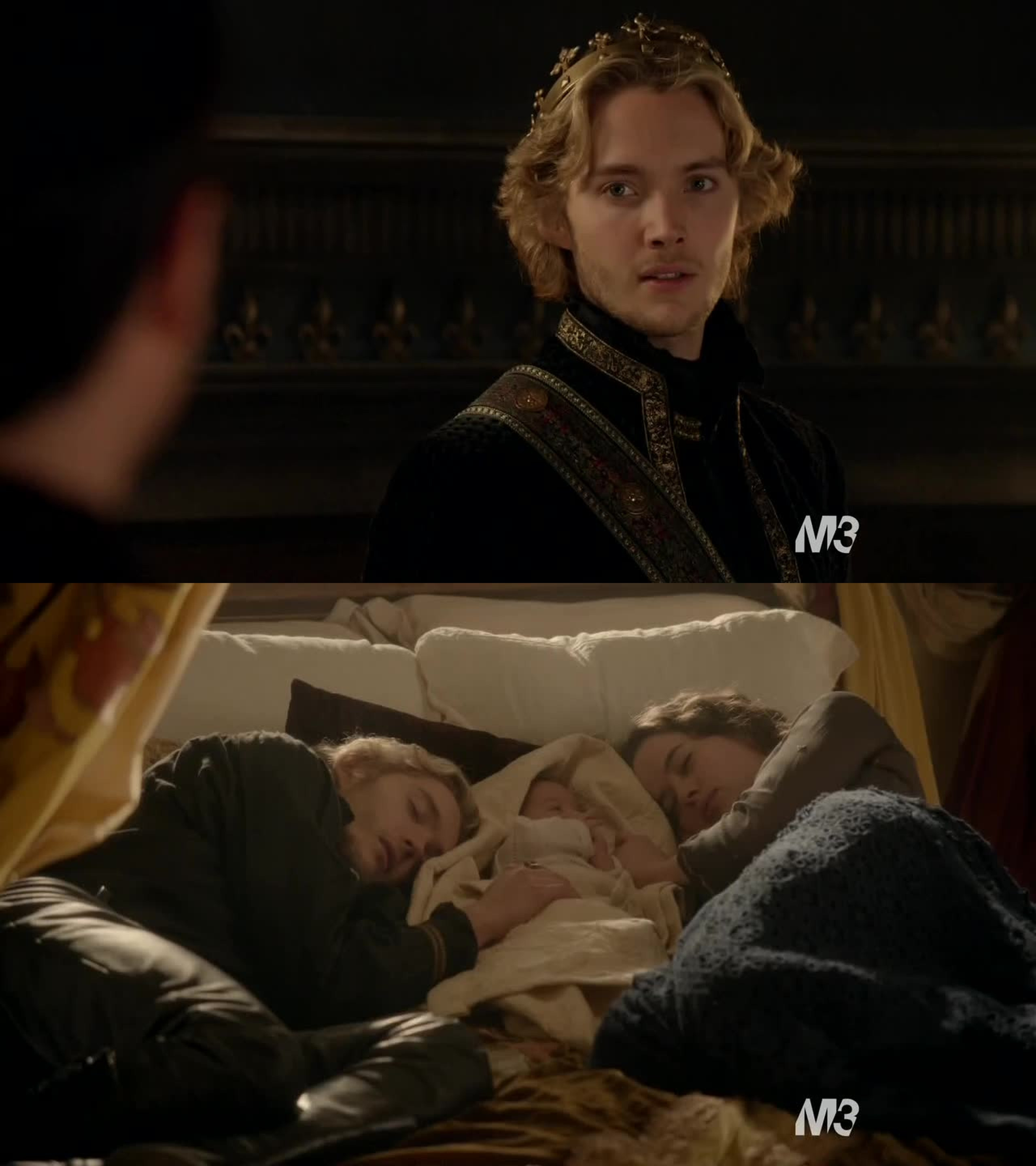 Francis is back at his best ! And don't say that his ruining everything with this last scene, that's not true, his just sleeping with his son, he's not romantically involved with Lola, he's not doing anything wrong (they don't even touch each other). I can understand that she's upset to see this, but I also think that Frary is bigger & stronger than this :)