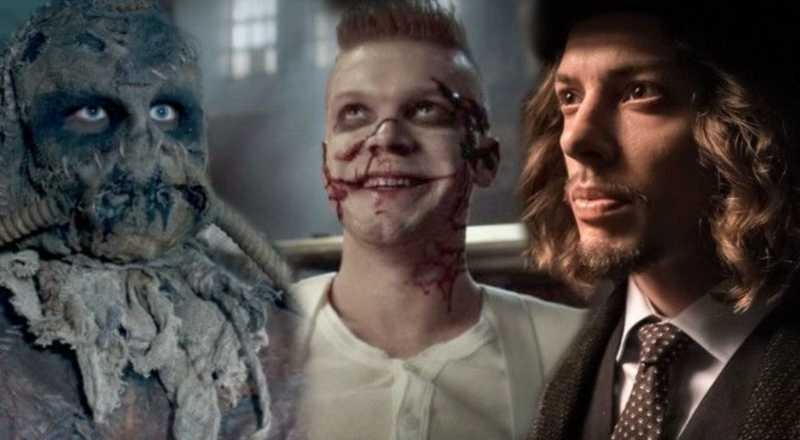 Scarecrow, Mad Hatter, and Jerome all teamin' up! The Gotham unholy trinity!
