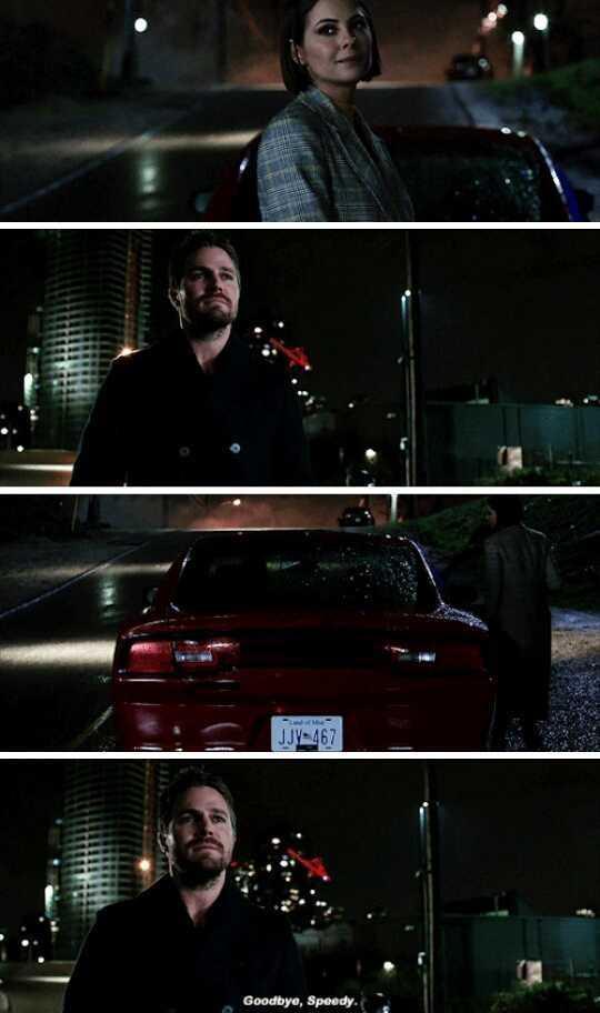 """""""Goodbye, Speedy."""""""