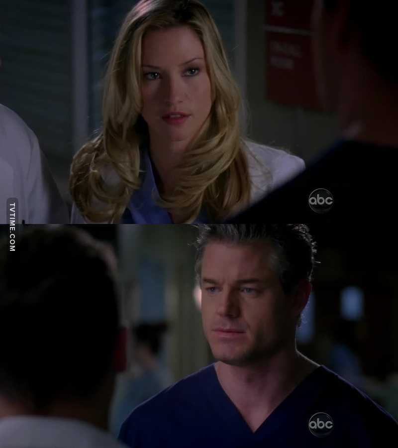I'm kinda pissed at Mark, like he can screw around with anyone but Lexie can't?