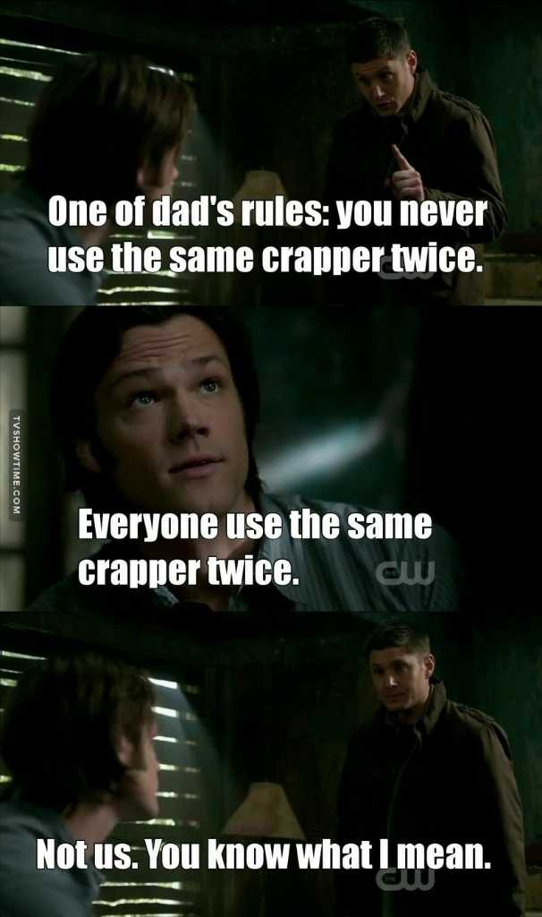 Dean and his phrases :')