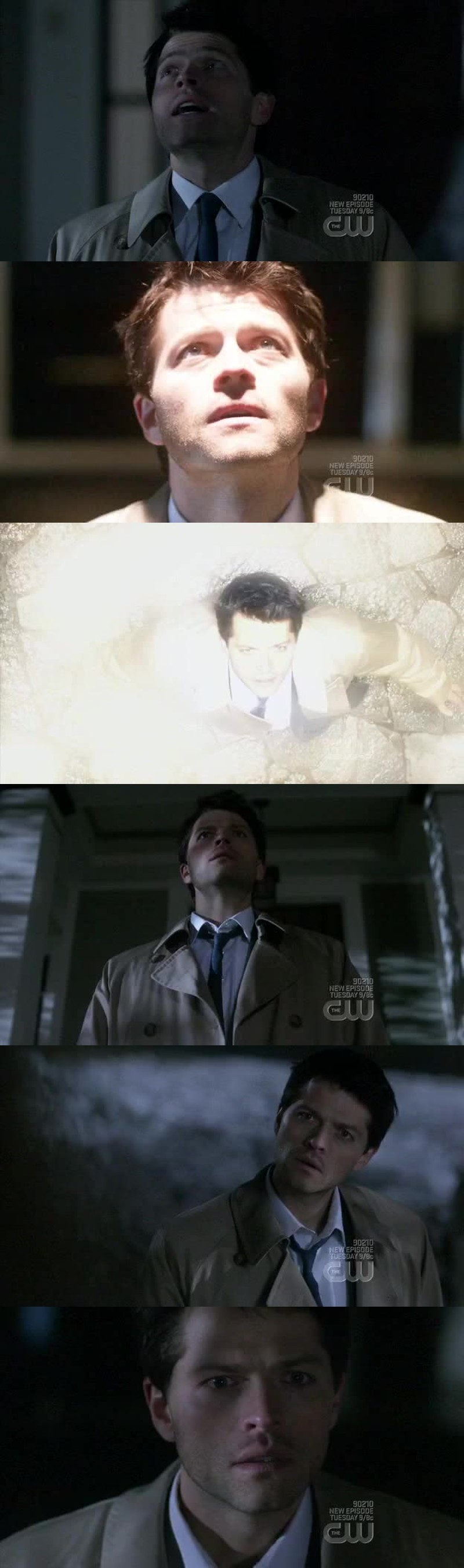 Misha Collins is really an excellente actor! We really saw the difference between Jimmy and Castiel...