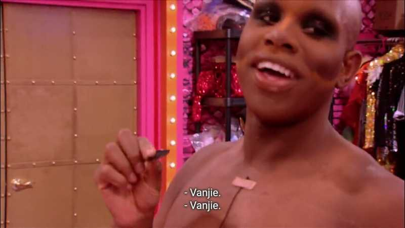 """when the girls started the """"Miss Vanjie"""" i was like YES a legend that should come back"""