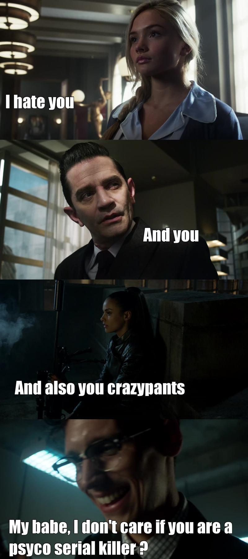 Gotham Logic 😜