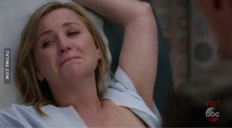 I thought this was the end, that Arizona's story will end with her dying from breast cancer 😢