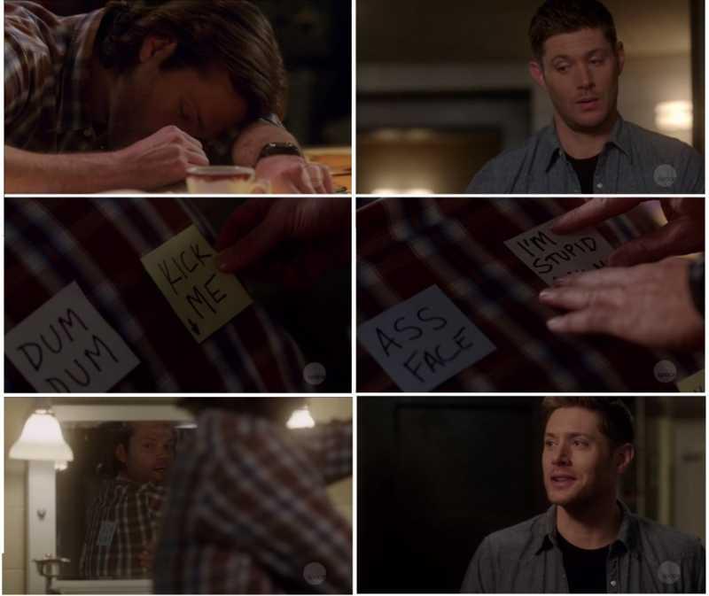 '' It's hilarious! '' So proud of himself.. 😅😂  Poor Gabriel.. 😩😢