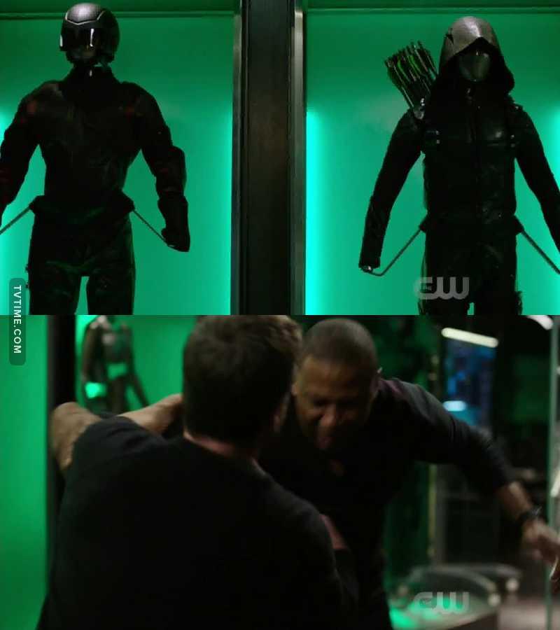 Green Arrow: Civil War