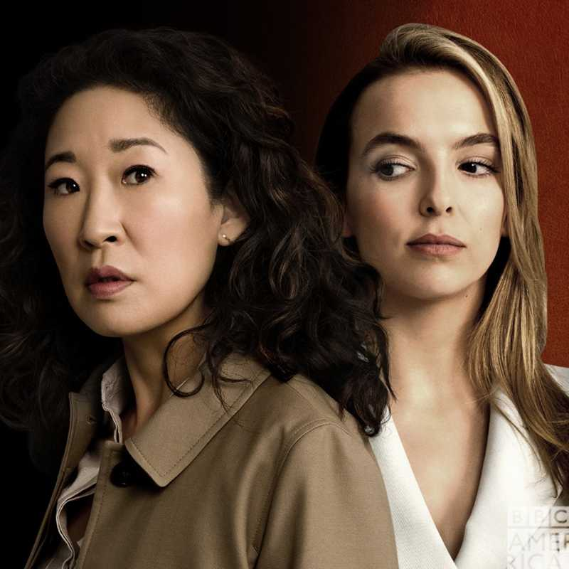 killing eve is so good and it's only on episode 1, so happy that Sandra Oh is on my tv screen again, and has already been renewed for season 2 yas!!!
