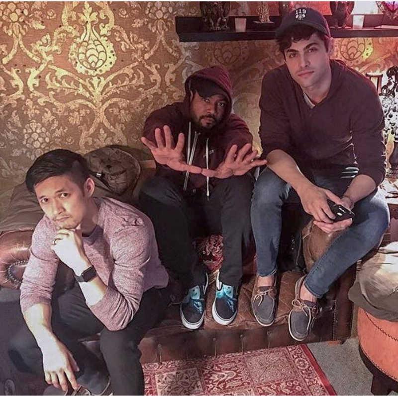 SHADOWS, the new boy band.