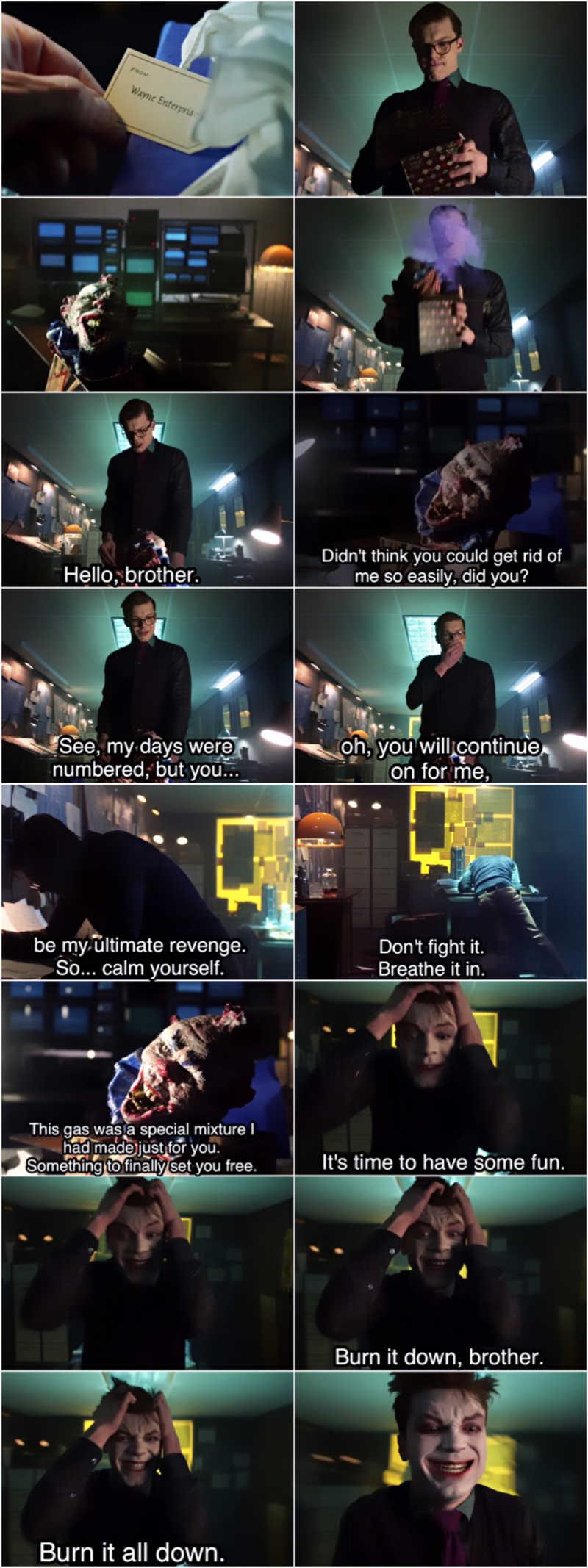 Wow 😵 This scene gave me chills 👏👏 He's hereeeeee 🤡🙌