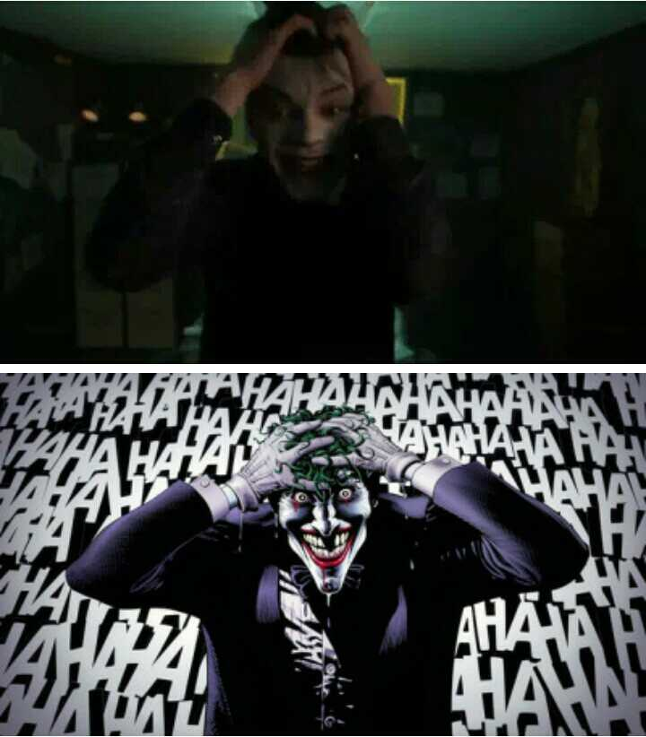Jeremiah's transformation scene paying homage to this iconic Joker scene in the 1988. This episode was stunning!