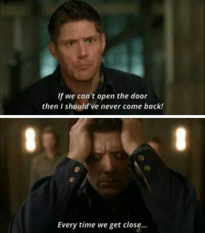 Jensen's acting gets me every time!