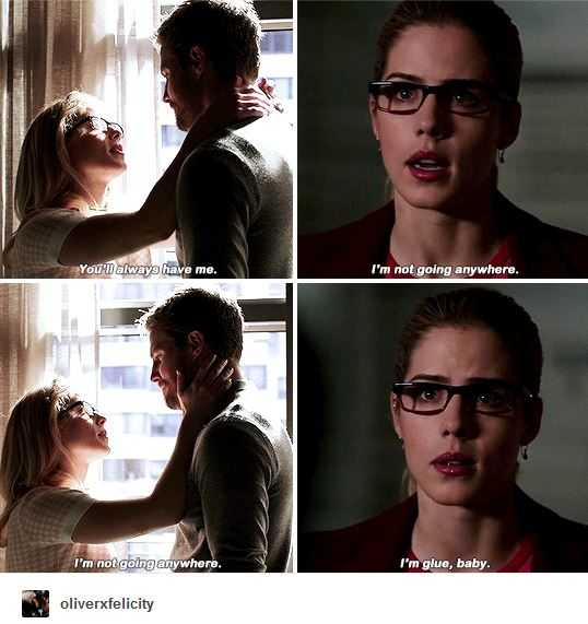 "this episode was sooooooooo good!!! finally Arrow!!!  I'M IN A GLASS CASE OF EMOTION  ""listen to your heart"""