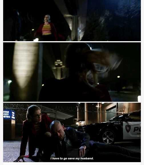 Run, Felicity, run!  😂