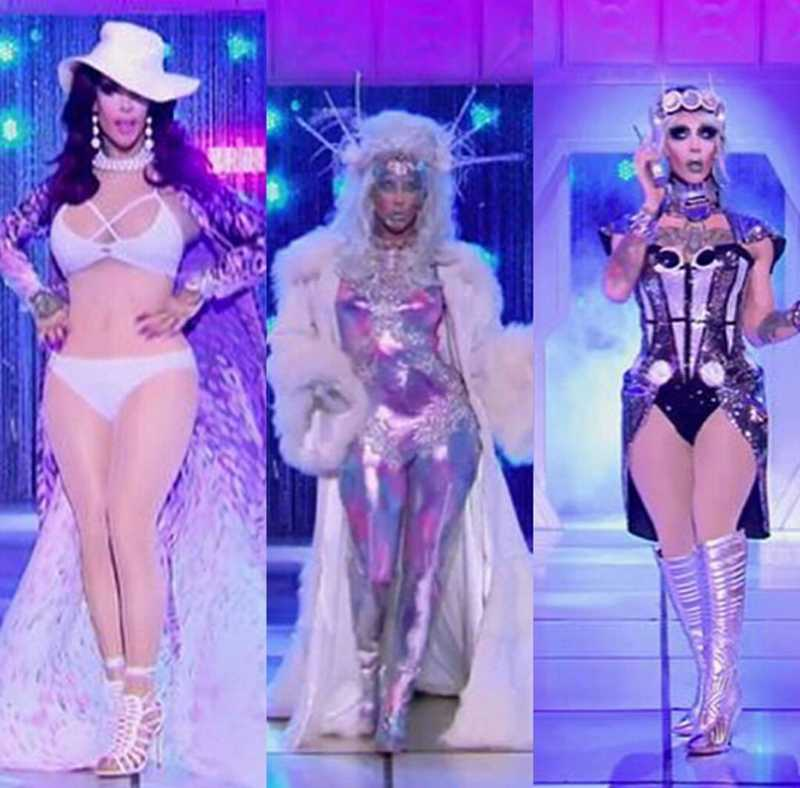 To be honest tho, I thought that Kameron's going to win this week runway/challenge or at least they appreciate her more than Aquaria - Miz rivalry! #SHOOOOT