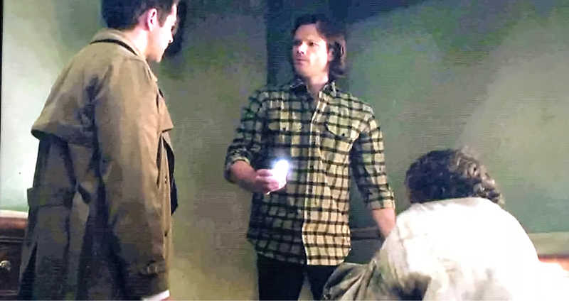 😆 Castiel:  Sam, I don't think he's going to open up and let the choo-choo in.