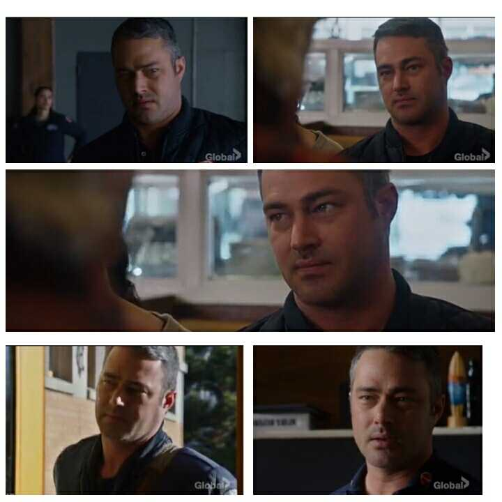 Hahaha. I just saw this picture from someone. Taylor Kinney really knows how to do a disgusted expression. 😂