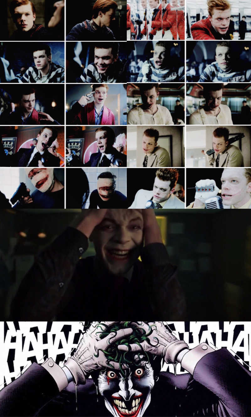 "I love the fact that they made the joker something that is more than a simple person, it's an idea that will live on forever and it will be his undeniable legacy. Last night episode was not only one of the best episodes on gotham but also one of the best episodes that I've seen this year, regarding this genre, just wow that was incredibly good and Cameron KILLED IT. I will be honest, when I discovered that they were going to kill Jerome I was freaking pissed off and disappointed bc, even if they always said he wasn't the joker, I loved him as a villain and I do believe he was already the perfect joker for the show and that they were wasting a fine ass character that delivered every time not only the most interesting episodes but also the best and the most memorable performances and that's why Cameron is freaking perfect for this role and this makes me more confident in accepting the twist of Jeremiah because I know he will nail this role once again. The laugh, the facial expressions, the way he moves, the look in eyes, the gestures, the references, Cameron really studied this role in every single detail and this is a method actor and not the one who destroy a character to make him ""modern"" and ""cool"" or acts like a d*ck...this is how you take an iconic role made even more iconic by legendary performances in the most respectful and amazing way with new interpretations and not with caricatures nor parodies..Cameron is deeply talented and he deserved to be the right heir of Heath's joker, I said what I said, and if you're not happy with this story remember that the other option that we now have is even worst so that's the tea for today. Last but not least I hope gotham will be renewed because I'm so hyped for how they're shaping the show and what is next for all the characters is what we all were waiting for.. I hope Jerome will come back somehow, he made a huge impact on the show and he won't be forgotten."