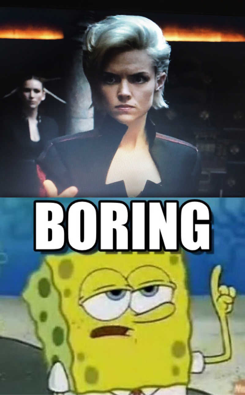 Barbara storyline...