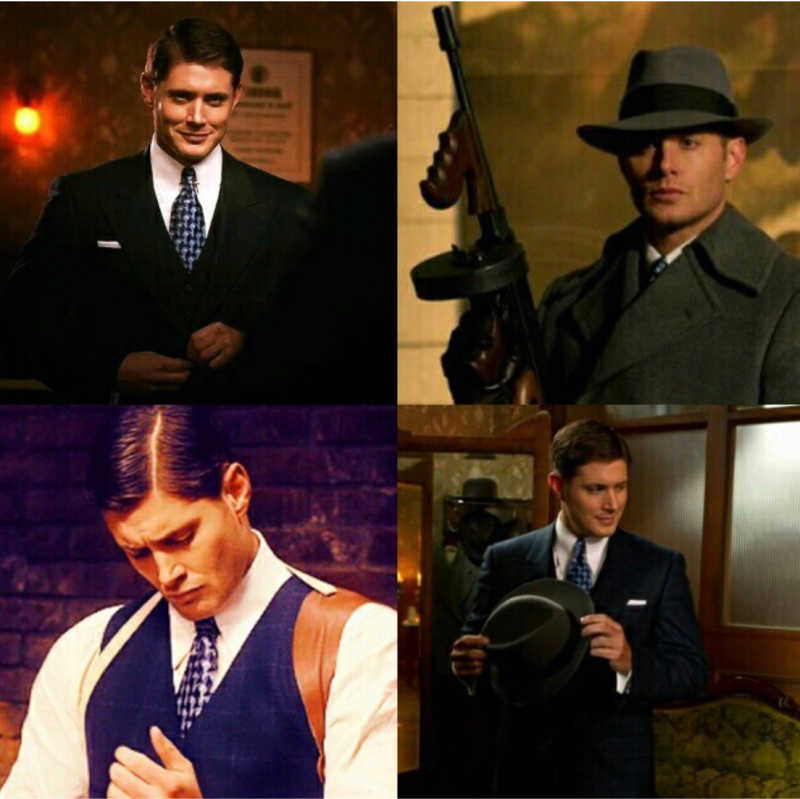 When you think Jensen Ackles can't be more handsome, he dresses with 1944 clothes and proves you wrong