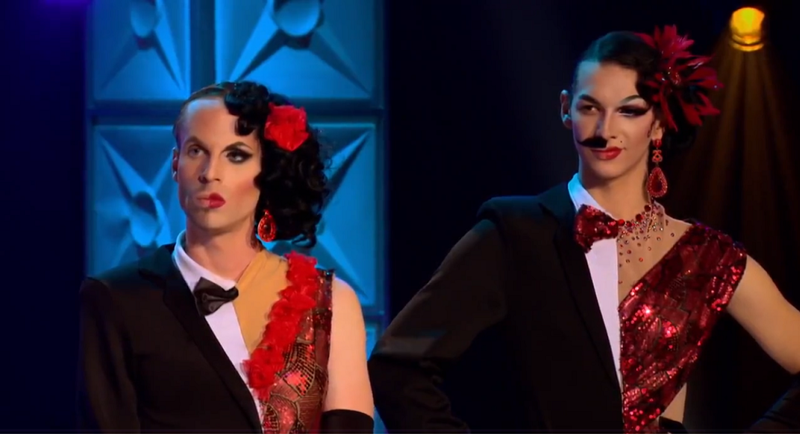 this challenge was absolutely GENIUS Katya and Violet fucking killed it