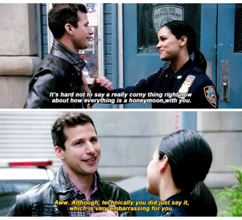 These two🙌🏼😂  I need a Jake Peralta in my life