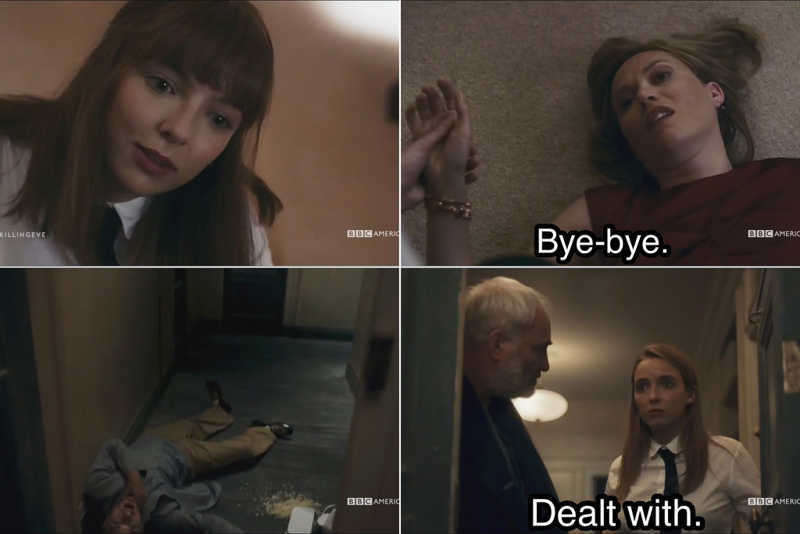 I'm concerned by how much I laughed at this 🤣🙃 She is the best psychopath I've seen in a long time!