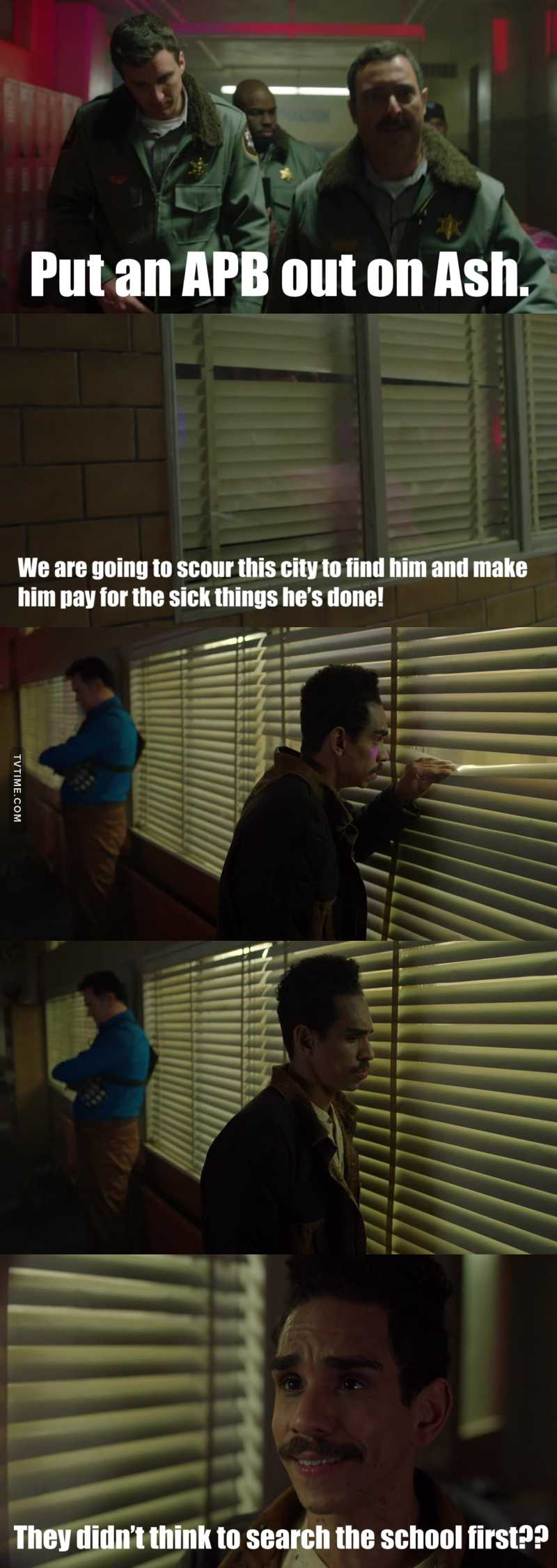 Bahahahahahahahahahahahaha!!!! It's the subtle things that kill me!😂🤣😂