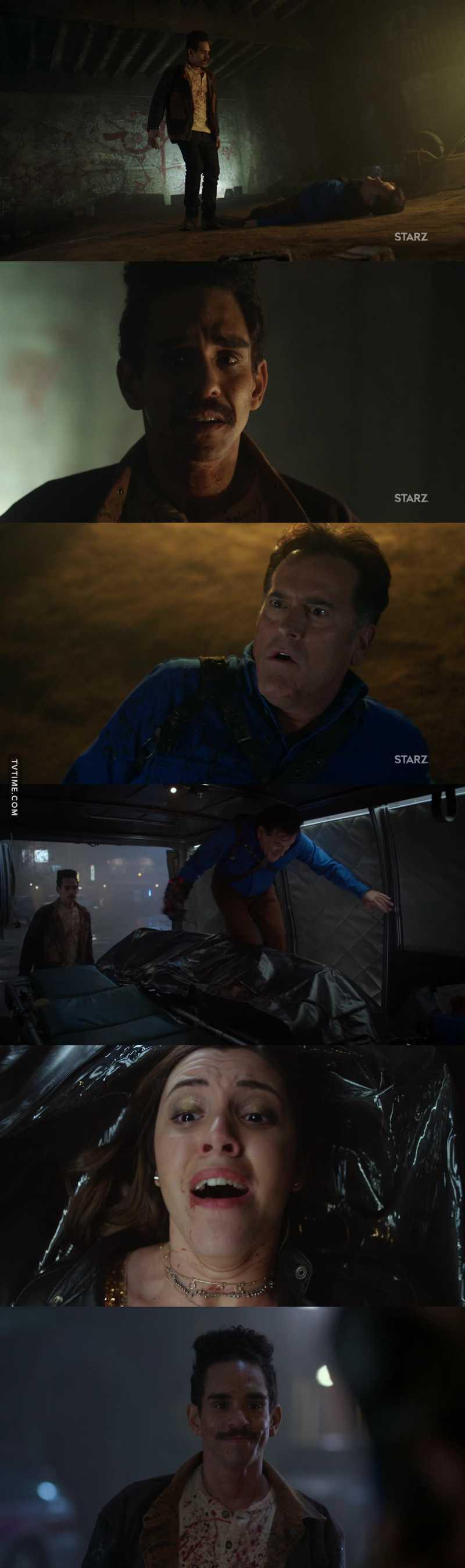 Quanta ressuscitação 😂 Tô muito feliz que o Pablito tá mais confiante e poderoso! E quem diria que o Ash faria de tudo pra salvar a filha! Quem te viu na primeira temporada e quem te vê, Ash Slashy!