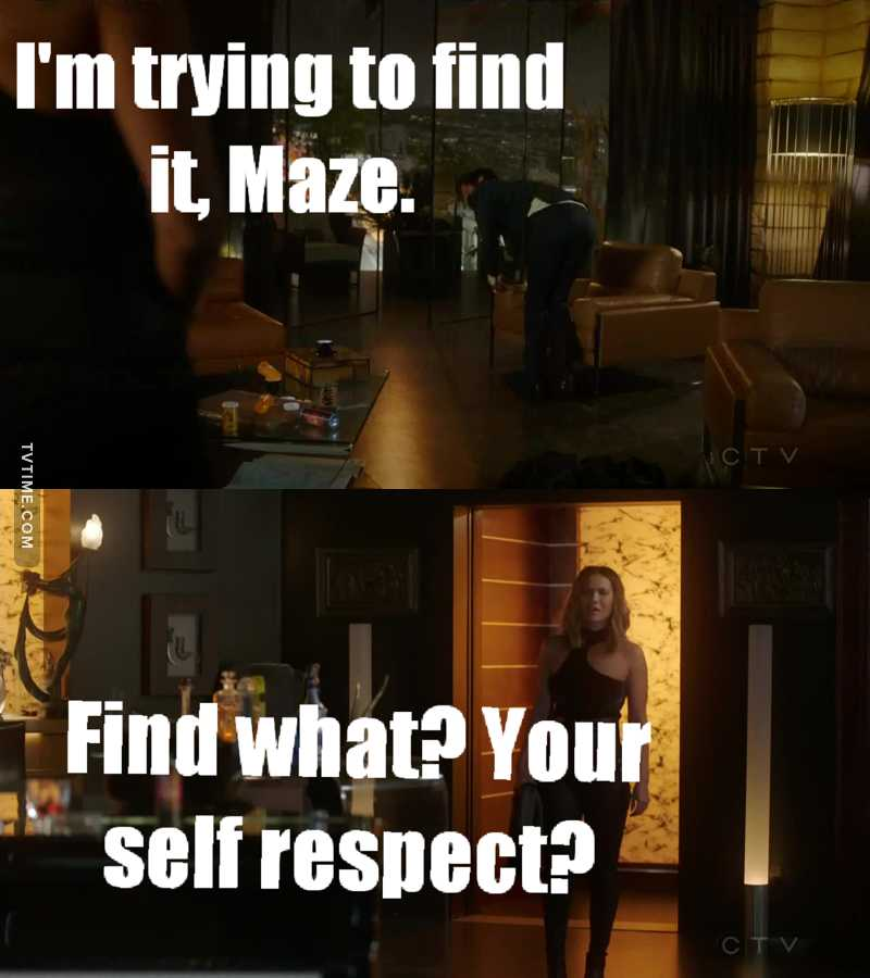 Even if Maze was annoying in this episode That was funny 😂