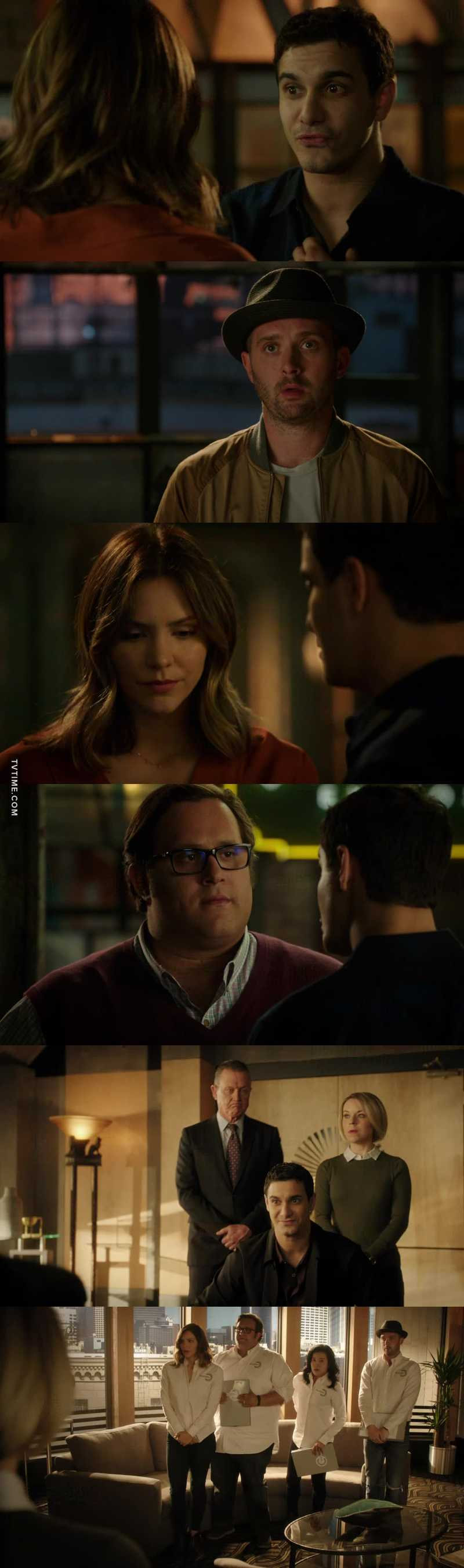 Oh Walter!!! It was likely Paige would find out eventually and that would split group/Scorpion. Didn't realise it was finale today so didn't expect it to happen this episode. What's that mean for next season??