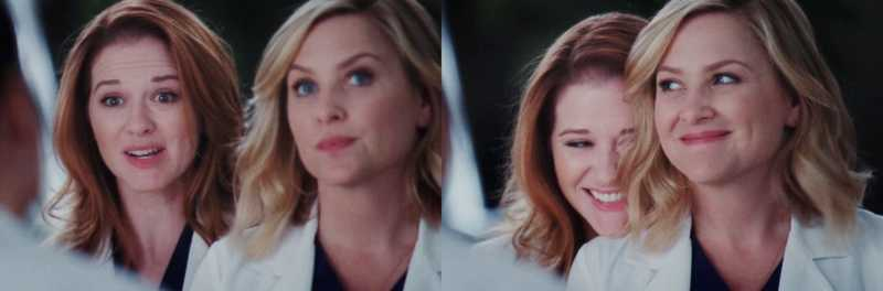 This episode Is so funny but I can't believe that Arizona and April are leaving, I'm still soo sad.